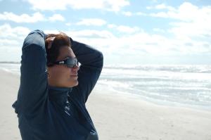 Gulf shore reflections!