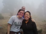 Top of the Incline on a foggy day.