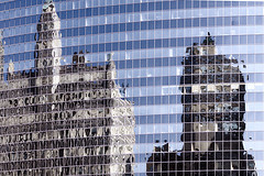 Chicago Reflected Again, David B. Vernon/eScapesPhoto