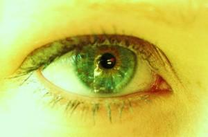 Alison's eye